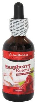 AnuMed - Raspberry Ketones Liquid Drops 200 mg. - 2 oz.