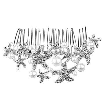 WINOMO Wedding Comb Prom Bridal Bridesmaid Crystal Hairpiece Accessory