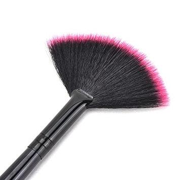 Fan Shape Makeup Cosmetic Brush Blending Highlighter Contour Face Powder QY