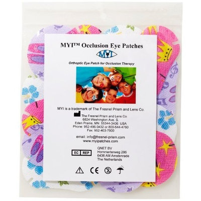 MYI Girls #2 Eye Patches - Regular Size (51 Per Package)