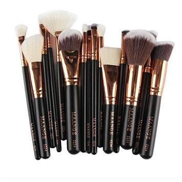 Cosmetic Brushes Set,Vovotrade 15pcs Cosmetic Makeup Brush Brusher Eye Shadow Brushes Kit