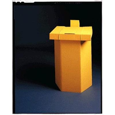 Medegen Medical MAI 15-24 17 x 15 x 25 in. Hamper Stand Yellow - 10 per Case