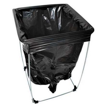 TOUGH GUY 6PAK3 Portable Bag Holder,13 and 20 Gallon