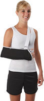 Ossur Premium Contact Closure Arm Sling Size: Medium, Style: With Pad