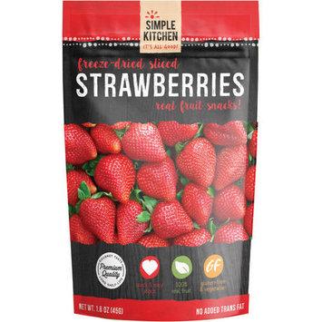 Wise Company Freeze-Dried Sliced Fruit, Strawberry, 0.7 Oz