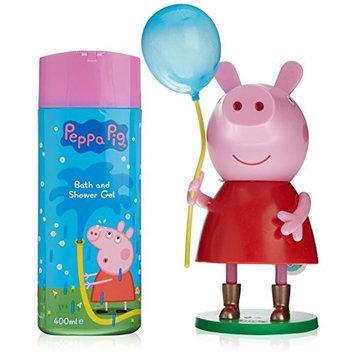 PEPPA PIG BATH SHOWER GEL 400ML + FIGURA CON GLOBO