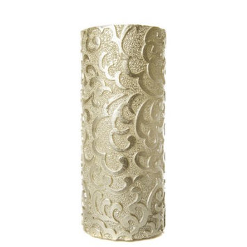 Amazing Flameless Candle Holiday Collection Flameless Pillar Candle, 8