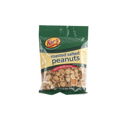 Dollaritemdirect PEANUTS ROASTED/SALTED 3.5 OZ PEG BAG, Case Pack of 42
