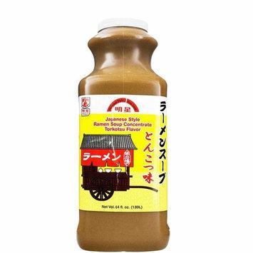 Myojo Japanese Style Ramen Soup Base Concentrate Tonkotsu Flavor, 64 fl.oz (1.89L)