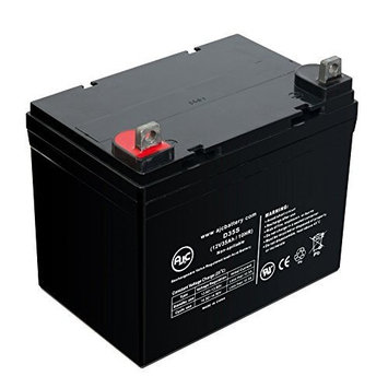 Pride Mobility SC64 Revo 4 Wheel 12V 35Ah Wheelchair Battery - This is an AJC Brand Replacement