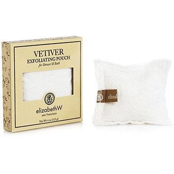 Elizabeth W Vetiver Exfoliating Bath Salts Pouch