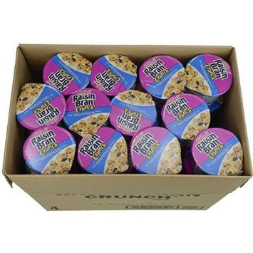 Raisin Bran Crunch Cereal In A Cup Cereal 60 Case 2.8 Ounce