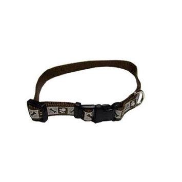 Coastal Pet 46382 A CPS12. 38 inch Reflective Nylon Collar, Chocolate