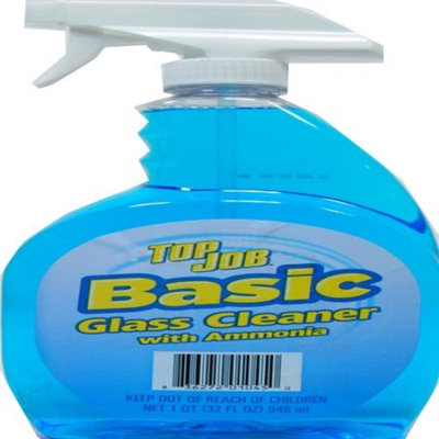 Generic Top Job Basic Glass Cleaner with Ammonia, 32 fl oz