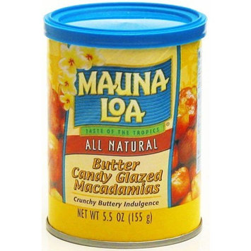 Mauna Loa Butter Glazed Macadamia Nuts, 5.5-Ounce Can (Pack Of 12)