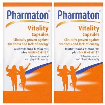 (2 Pack) - Pharmaton - Pharmaton Vitality   100's   2 PACK BUNDLE: Health & Personal Care