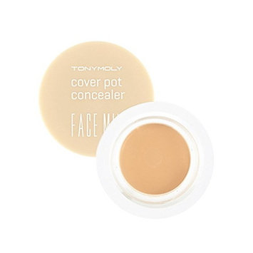(3 Pack) TONYMOLY Face Mix Cover Pot Concealer #2 Natural Beige