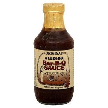 ALLEGRO Sauce, Barbecue Original, 18-Ounce
