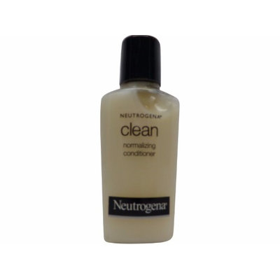 Neutrogena Clean Normalizing Conditioner lot of 0.9oz Bottles Total 10.8oz (Pack of 12)