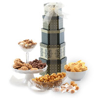 Broadway Basketeers Holiday Celebrations Gift Tower
