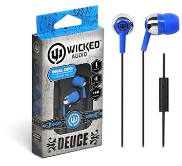 Wicked Audio Deuce Ear Buds w/Mic Blue
