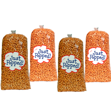 Just Popped Popcorn Chicago Style Cheese and Caramel Gourmet Popcorn 4-Pack (72 Cups per Case)