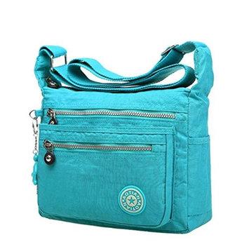 AutumnFall Leisure Womens Girls Waterproof Nylon Messenger Bags Shoulder Bags