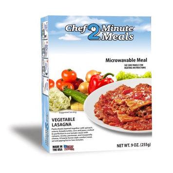 Chef Minute Meals Inc. Vegetable Lasagna