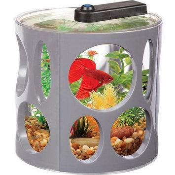 Aquaculture Aqua Culture 1.5-gal LED Fish Tank Resort Ideal for Bettas