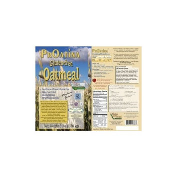 Gluten Free Raw Oatmeal - 2 Pack of 3 Pound Bags