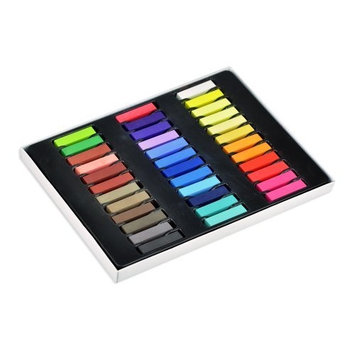 36 Colors Non-toxic Temporary Hair Chalk Dye Soft Pastels Salon Kit With Box by bestfavor