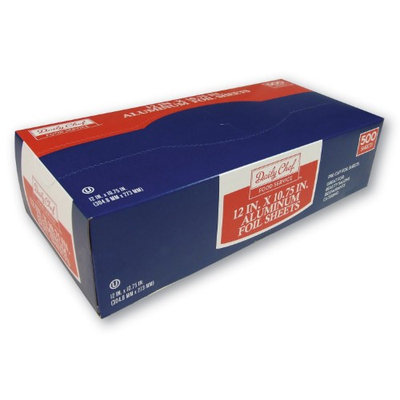 Bakers & Chefs Foil Sheets 12 x 10.75 - 500 ct.