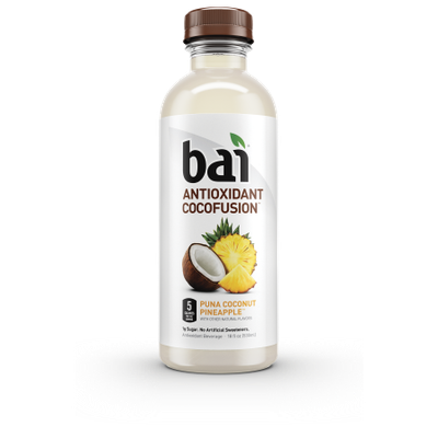 Bai Cocofusions Puna Coconut Pineapple, 18 Fl Oz (CASE of 12)