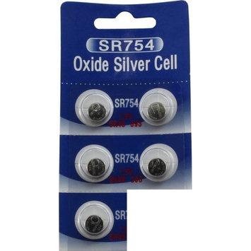5 POWERTRON SILVER OXIDE BATTERIES 393 309 SR754 LR754 SR48 LR48 AG5 193 V393 D393 RW28 S15 55 MAH