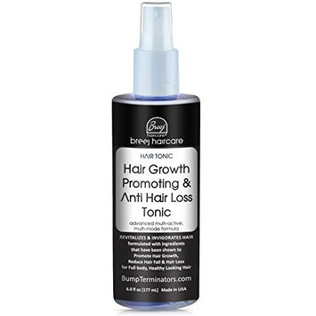 HAIR GROWTH PROMOTING AND ANTI HAIR LOSS TONIC, [for Men and Women], 6 fl oz - by BREEJ Technologies