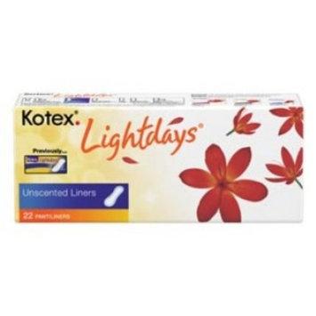 PANTILINER, KOTEX, LIGHTDAYS, UNSCENTED ( PANTILINER, KOTEX, LIGHTDAYS, UNSCENTED ) 396 Each / Case