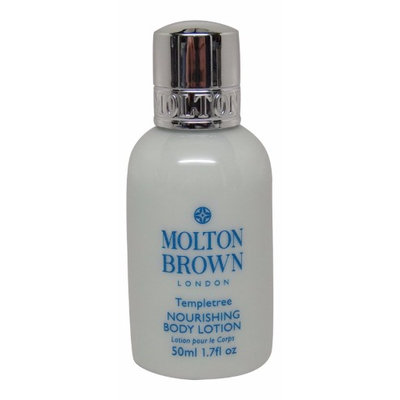 Molton Brown Templetree Body Lotion Lot of 1.7oz bottles. Total of 6.8oz (Pack of 4)