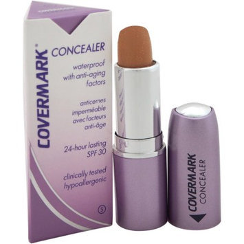 Concealer Waterproof with Anti-Aging Factors SPF 30 - # 5 by Covermark for Women - 0.18 oz Concealer