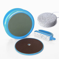 Callus Remover & Foot File - Pedicure Kit & Bonus Pumice Stone for Exfoliate Foot Callus, Dry Crack Feet