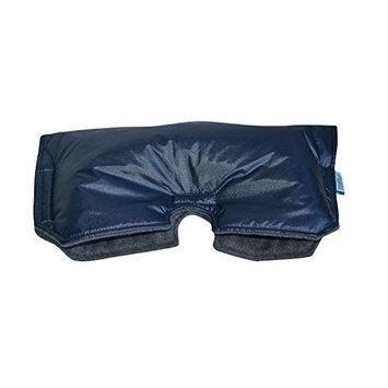 Tivoli Couture Universal Stroller Handmuff/Hand Warmer, Navy Blue/Grey