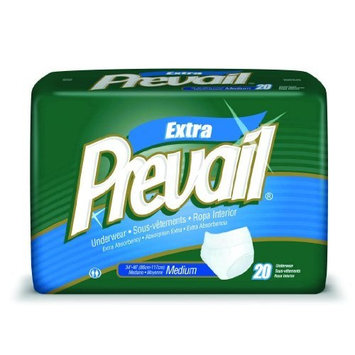 Prevail Protective Underwear - Regular And Super Absorbency Large/Case of 72