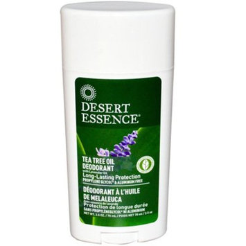 Desert Essence Tea Tree Stick Deodorant W/lavender Oil, 2.5-Ounce