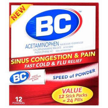 Bc Powder Bc Pain & Sinus Congestion