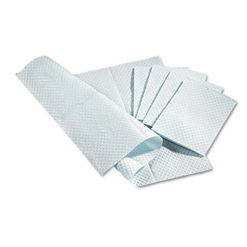 Medline NON24357WH 3-Ply Tissue Professional Towels, 13