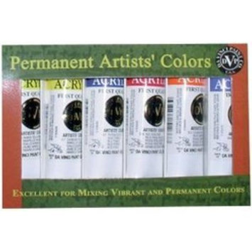Warm and Cool Heavy Body Acrylic Paint (Set of 6)