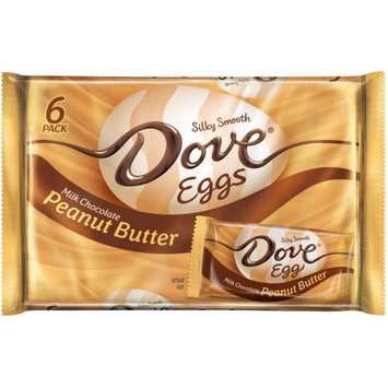Dove Easter Peanut Butter Single - 6pk