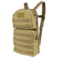 Condor HCB2-003 TAN MOLLE Hydration Carrier Backpack w/2.5L Bladder Included