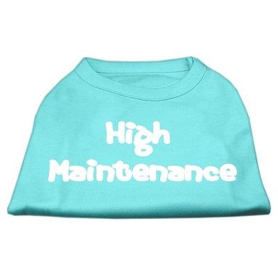 Mirage Pet Products 5127 XXLAQ High Maintenance Screen Print Shirts Aqua XXL 18