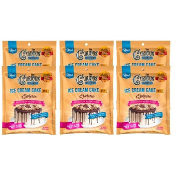 The Curious Creamery 851945007711 Espresso Ice Cream Cake Mix - 6 Pouch Pack