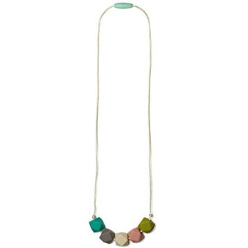 Mama & Little Teresa Silicone Baby Teething Necklace for Moms - Nursing Necklace in Sweet Mint - Teething Beads and Baby Teething Toys